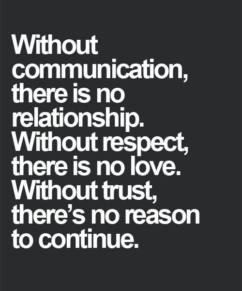 Without Trust There is No Reason to Continue   Wisdom Quote