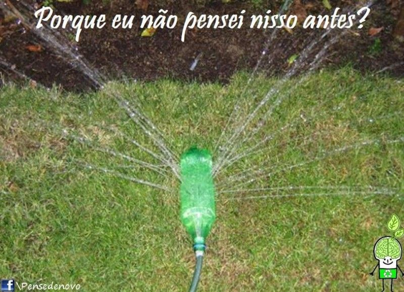 Irrigador prático | Idéias Geniais | Pinterest | Recipiente para ...