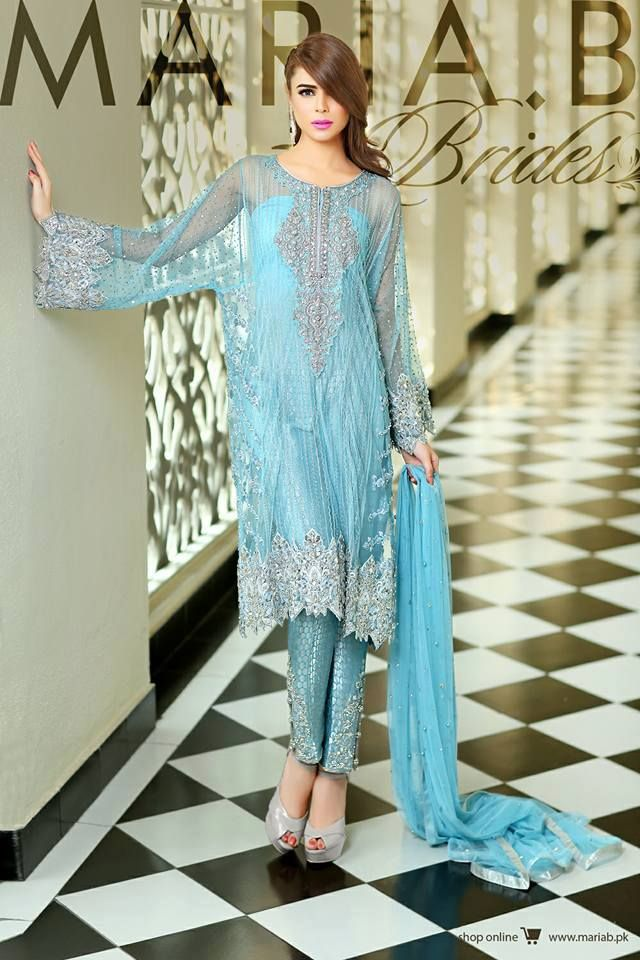 New fashion party dresses in pakistan
