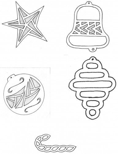 scroll saw patterns christmas ornaments - Google Search - Scroll Saw Patterns Christmas Ornaments - Google Search