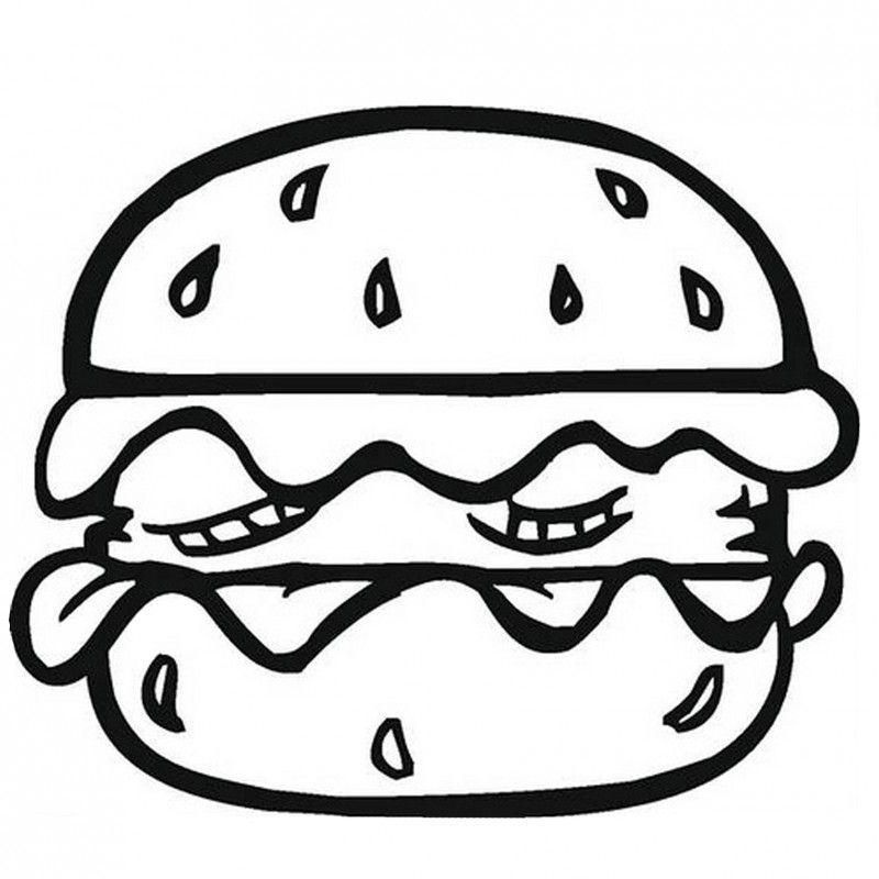 20++ Cat hamburger coloring pages information