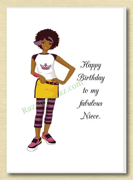 African American Niece Birthday Card C African American Birthday Card Niece Birthday Cards For Niece Niece Birthday Happy Birthday African American