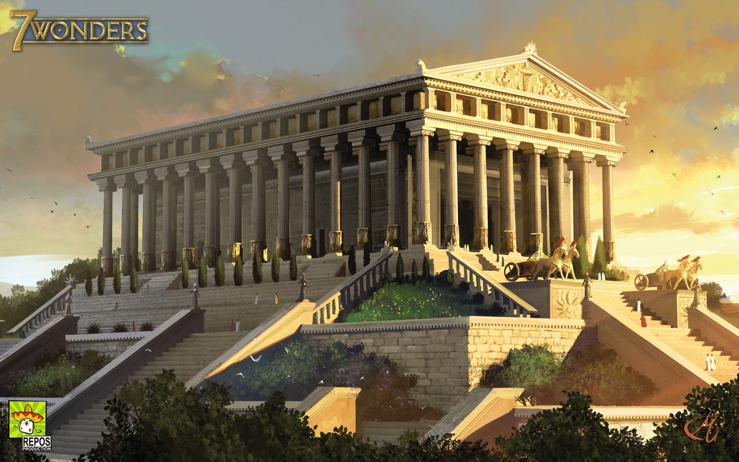The Temple Of Artemis One Of The Seven Wonders Of The Ancient