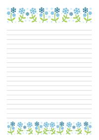 picture regarding Printable Letter Papers identified as Januári nyomtatható levélpapír - January printable letter
