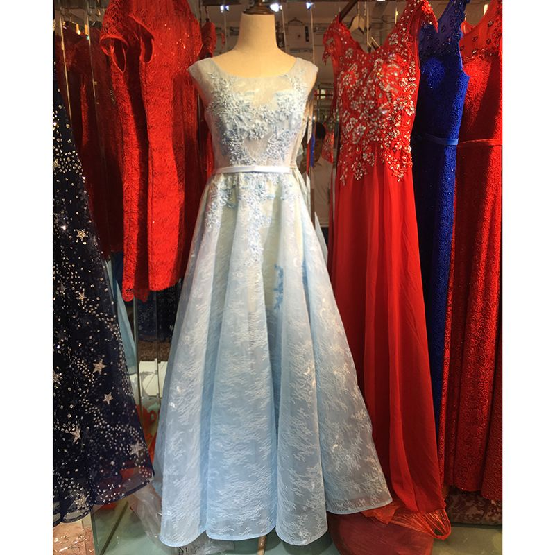 Party Dresses with Trains