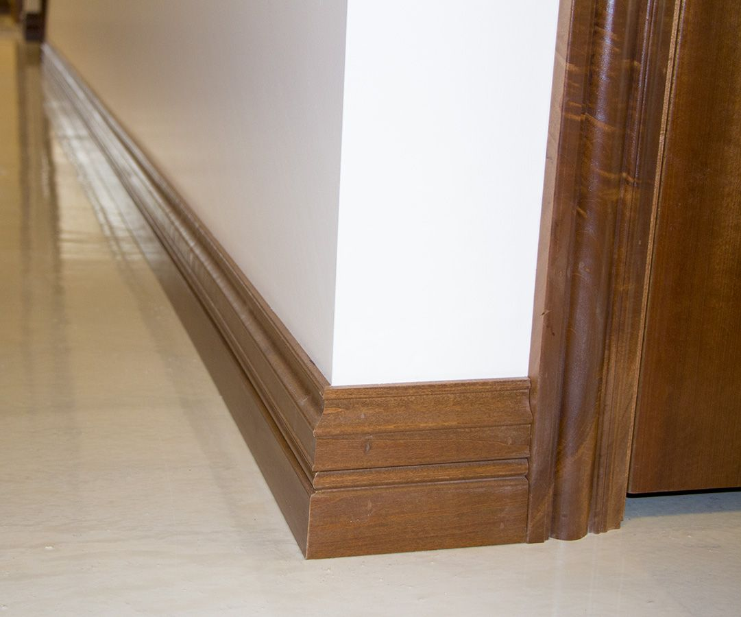 How to cut base molding in place - Find This Pin And More On Baseboards And Trim