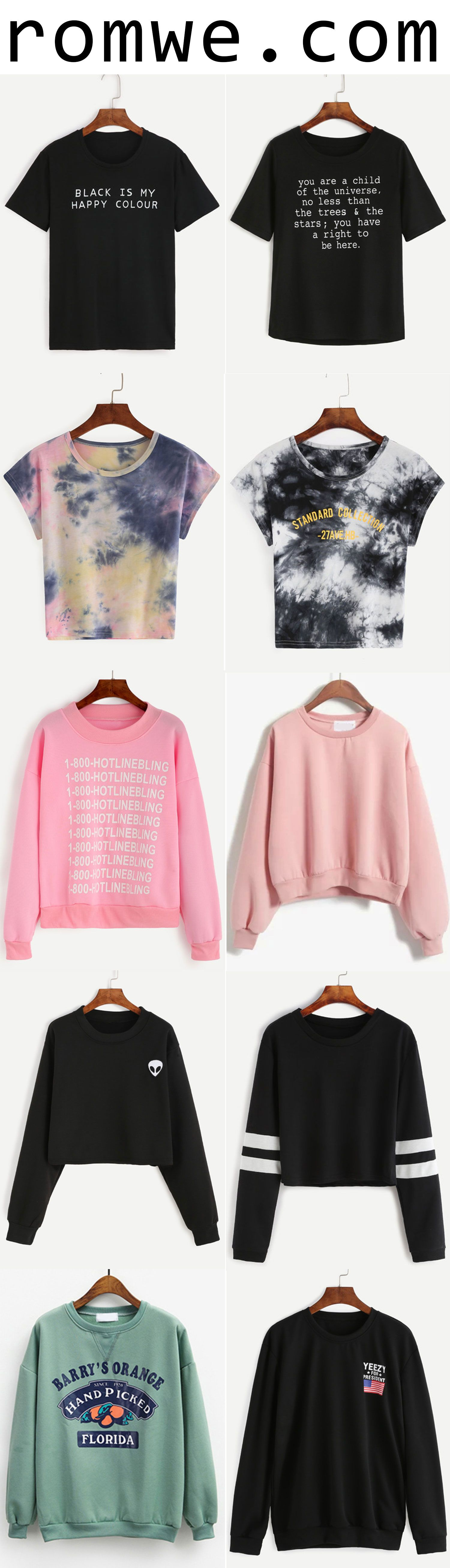 Autumn Chic - fashion t shirts and comfortable sweatshirts from romwe.com