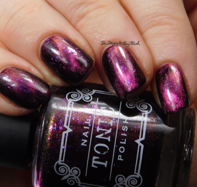 Tonic Polish Zeppo magnetic nail polish swatch + review | Magnetic ...