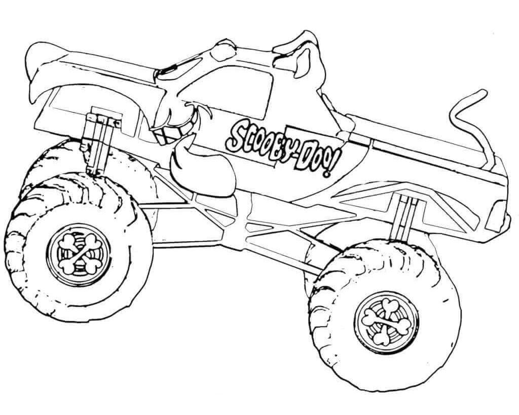 Monster Mutt Dalmatian Coloring Pages 2 By Erica Monster Truck