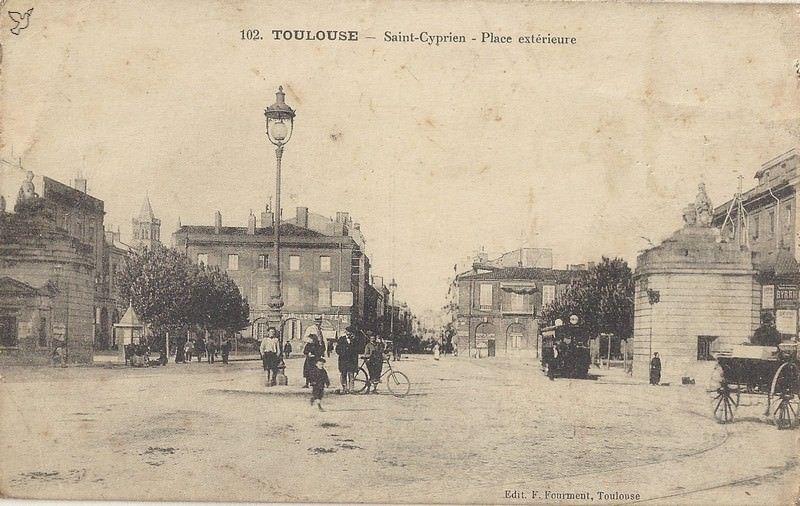 Epingle Par Barutel Sur Archives Toulouse Toulouse Cyprien St Cyprien