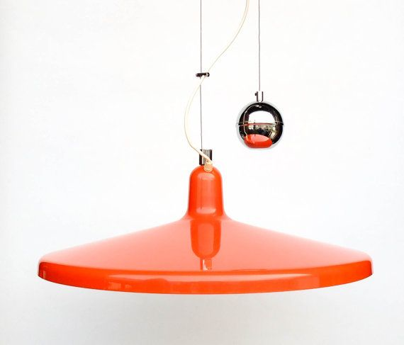 Years 70 glass pendant light by Holmegaard style