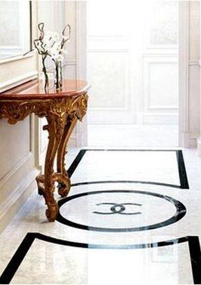 Amusing White Marble Flooring Design Ideas - Best idea home design ...
