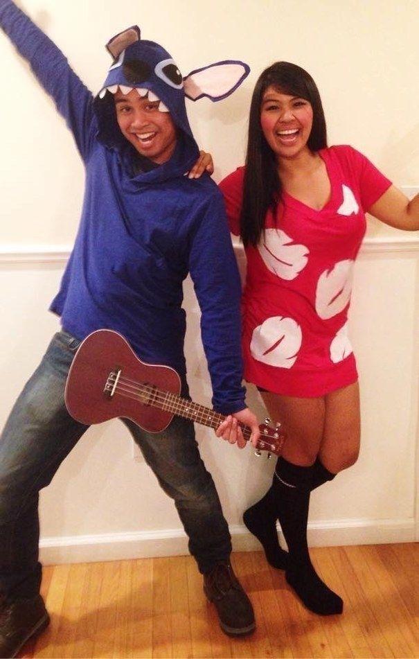 Lilo and Stitch - Disney halloween costumes, Disney couple costumes, Stitch halloween costume - 웹