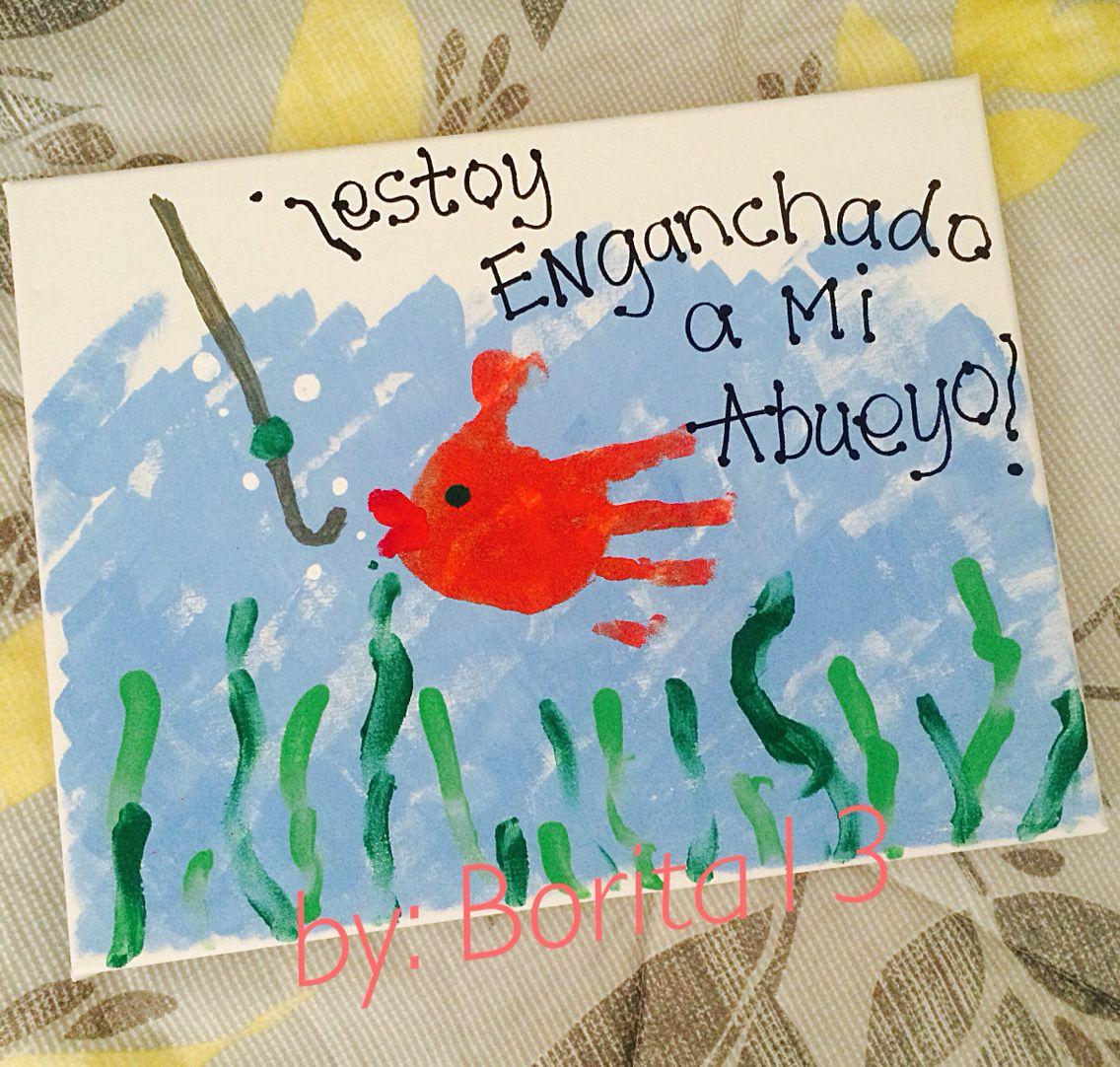 Regalo para Abuelo, Dia del Padre por niño: Manualidades | Crafts By ...
