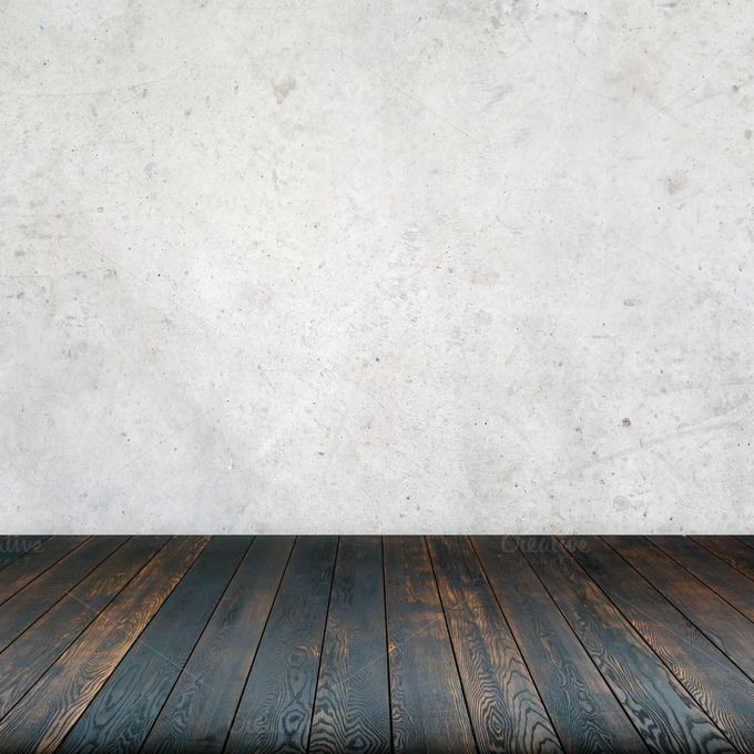Concrete Wall Wooden Floor With Images Wooden Flooring