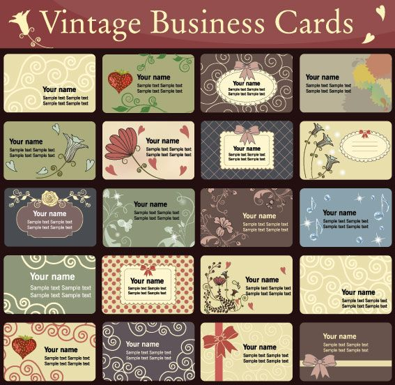 Business Card Design Templates Free Download Printables - Free downloadable business card templates