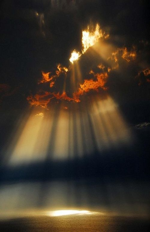 Image result for the heavens shining down on earth