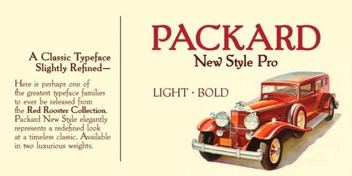 Packard New Style Font Download Fonts Font Shop Fonts