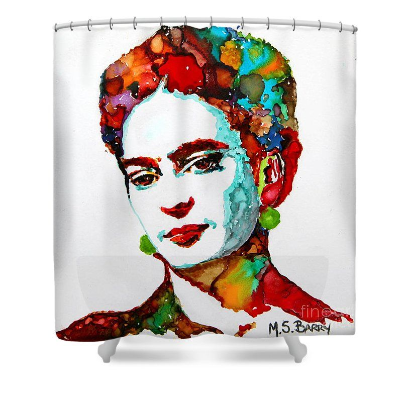 Frida Kahlo Shower Curtain For Sale By Maria Barry Shower