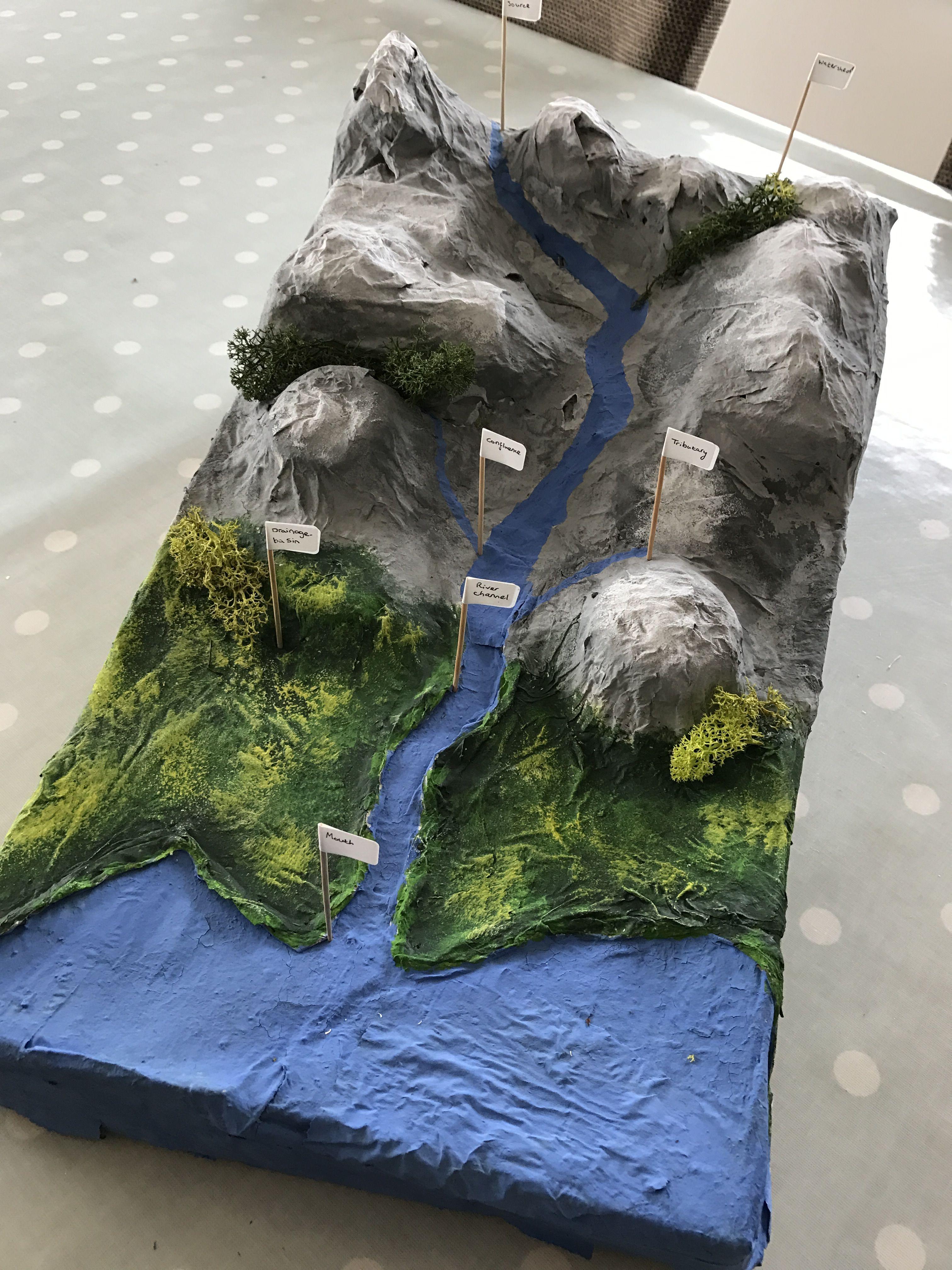 3d River Bed Model