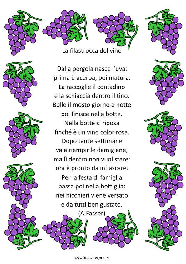 Popolare dall'uva al vino schede didattiche scuola primaria - Cerca con  BD71