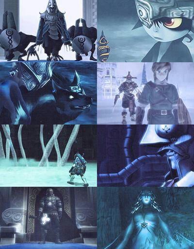 The Legend of Zelda: Twilight Princess in 8 panels | #GCN #Wii #WiiU
