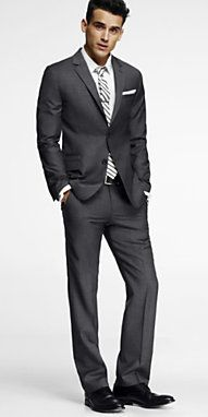 Men's Outfit from Express. Fitted Suits and Tuxes are amazing ...