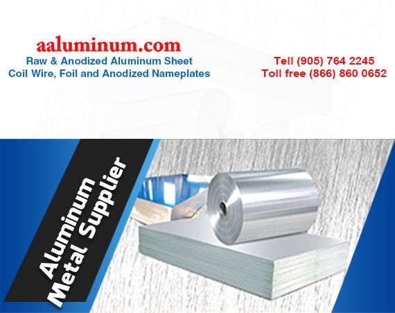 We Are Your Go To Aluminummetalsupplier We Sell Raw Anodized Aluminum Sheets Coil Wire Foil Anodized Nameplate Aluminum Metal Anodized Colored Aluminum