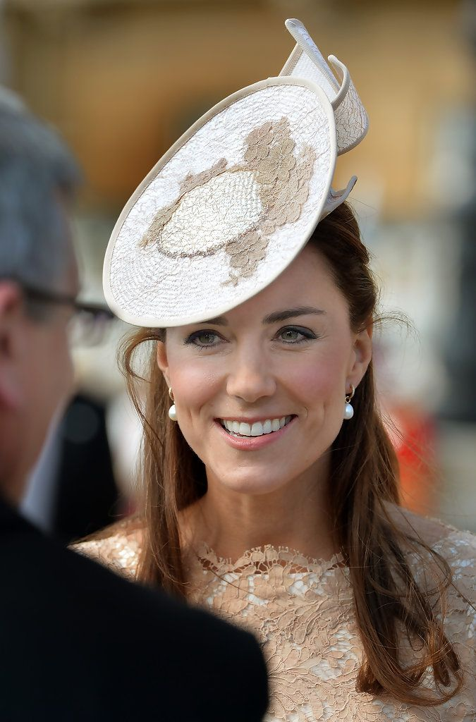 Kate Middleton at a Buckingham Palace garden party