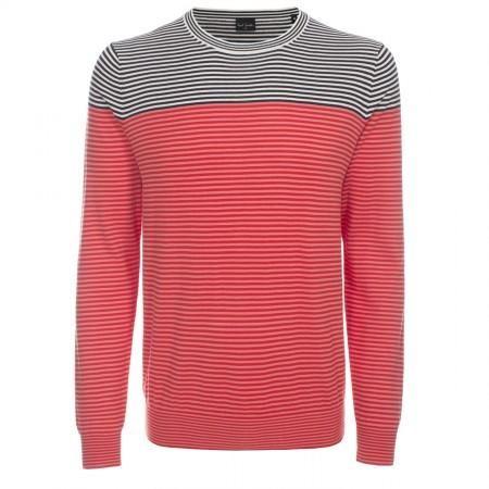 Paul Smith Men's Knitwear - Red Contrast Stripe Sweater