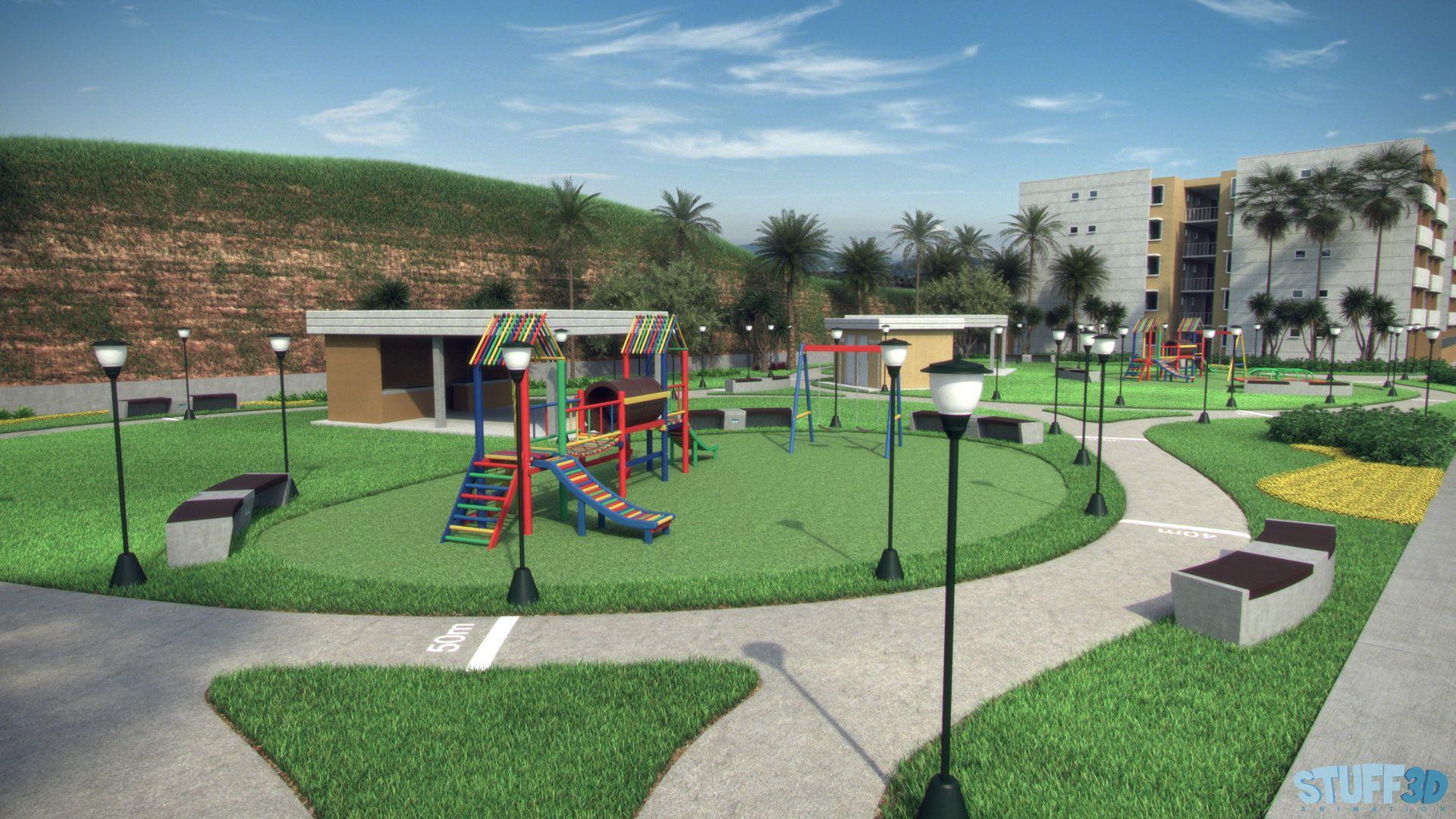 Reas recreativas exteriores de un parque al aire libre - Que es un porche en arquitectura ...