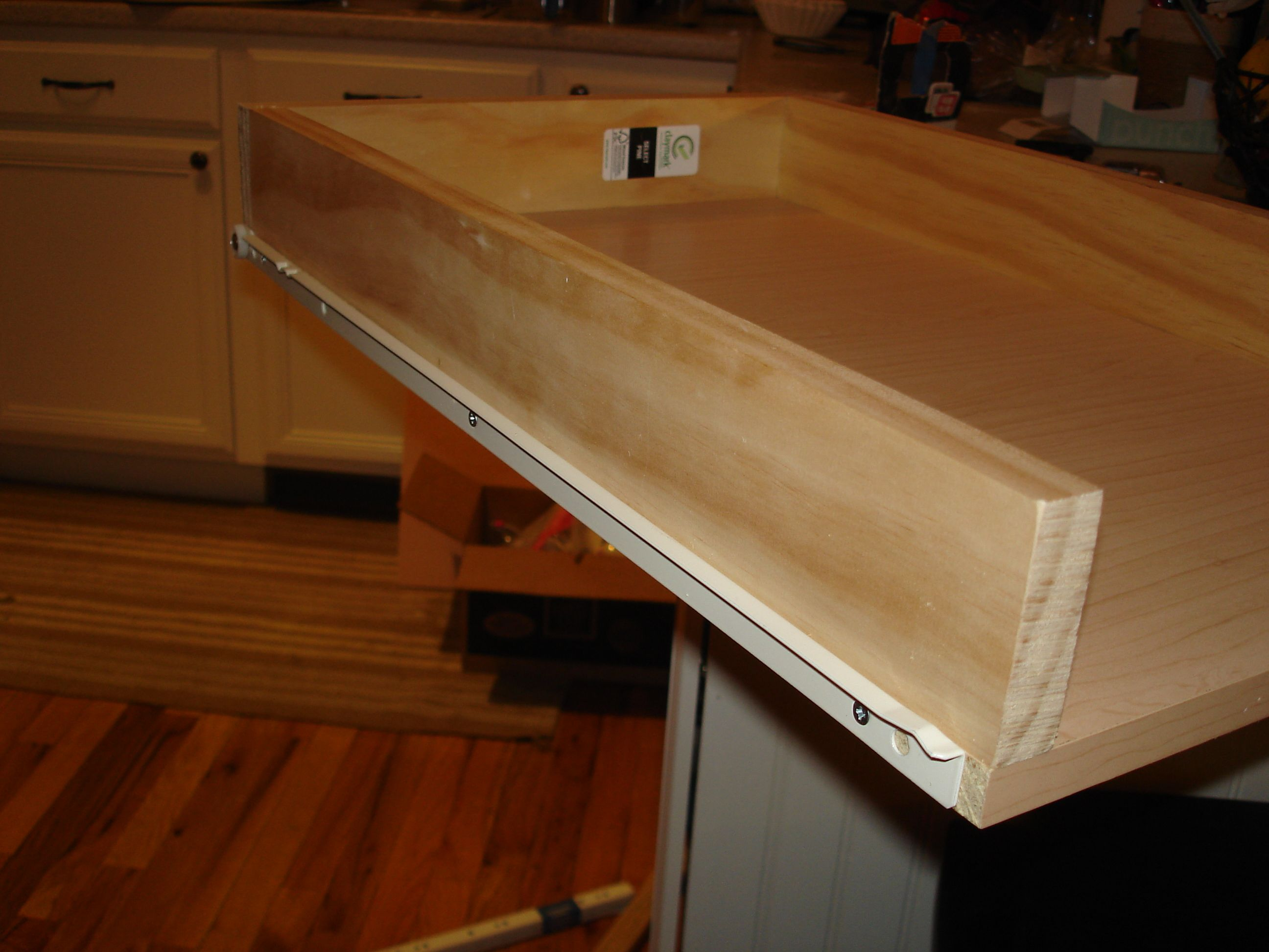 DIY pull out pantry shelves organization ideas