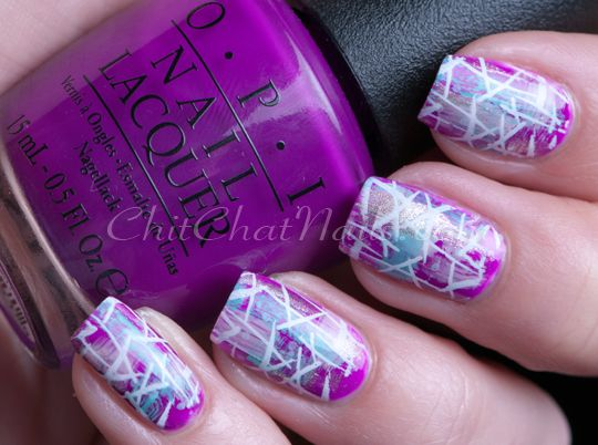 OPI – Push & Pur-Pull - ChitChat Nails Konad M-72