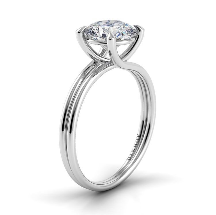 Danhov Double Shank Engagement Ring Double Shank Engagement Ring Danhov Engagement Rings Engagement Rings