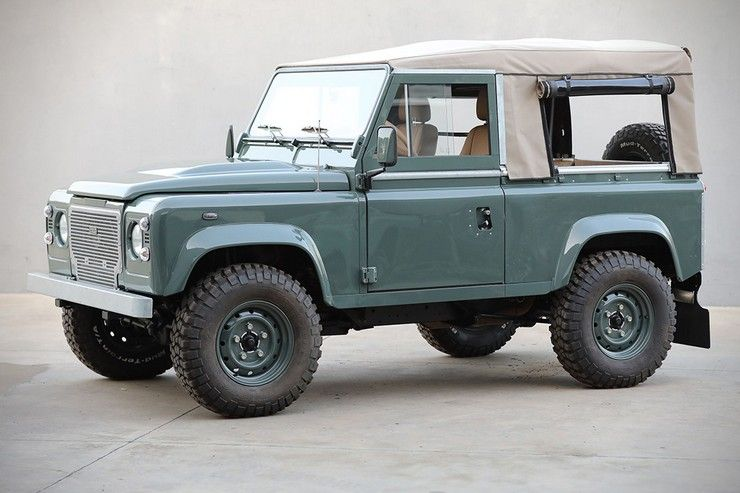 Land Rover Defender D90 By Cool Vintage Autok Motor