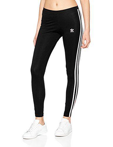 Adidas Women S 3 Stripes Tights Fitness Wear Women Adidas Women Adidas Outfit Women