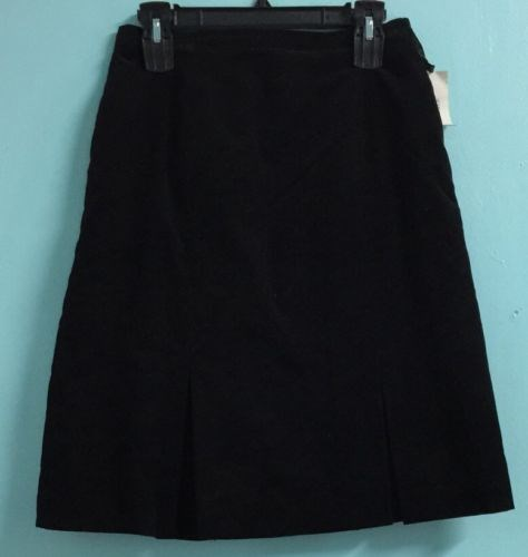 24.95$  Watch now - http://viyio.justgood.pw/vig/item.php?t=qvkncid56816 - Women's Petite Skirt Size 10P Ribbed Brushed Cotton LE SUIT NWT #401