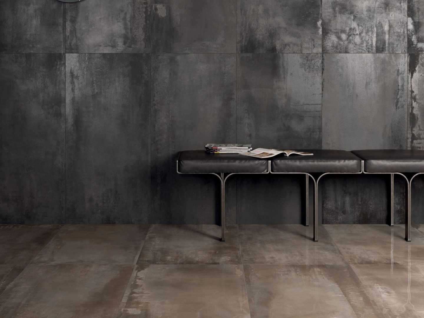 All The Beauty Of Metal In A Porcelain Tile Give Your Home Wow Factor With