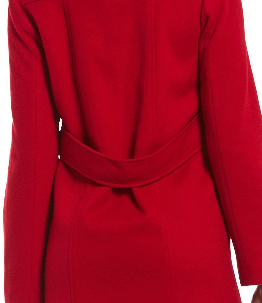 cb11e5b42fc1 Katherine Kelly Classic Stand Collar Single Breasted Wool Coat Classic