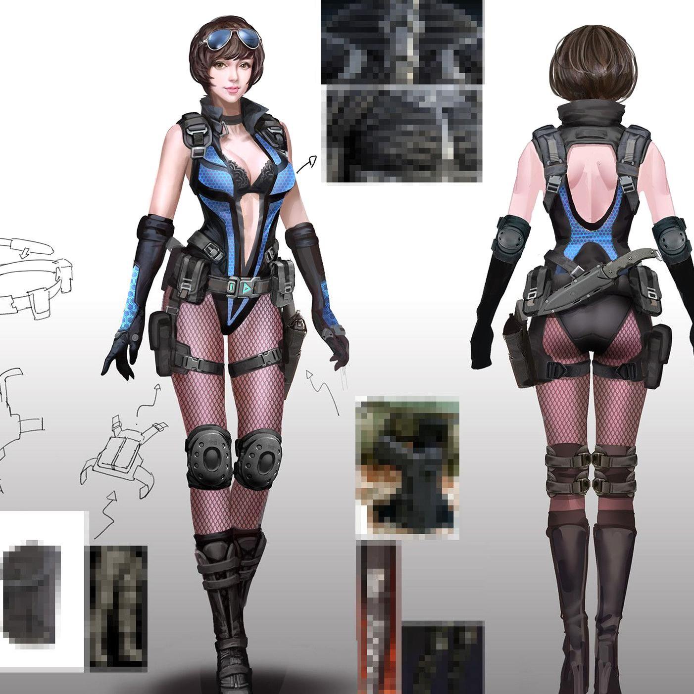 ArtStation Character design Chungwei Yu in 2020 Female