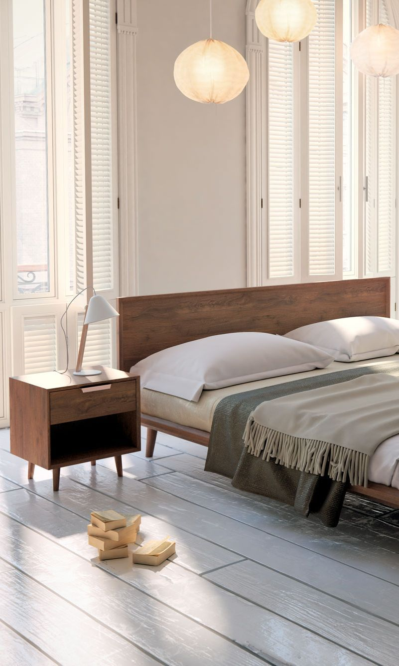 10+ Mid Century Modern Bedroom: Let the Light Lighten Your ...