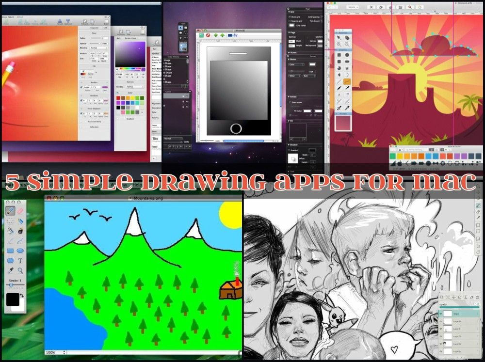 6 Simple Drawing Applications for Mac | Apple Tech | Drawing