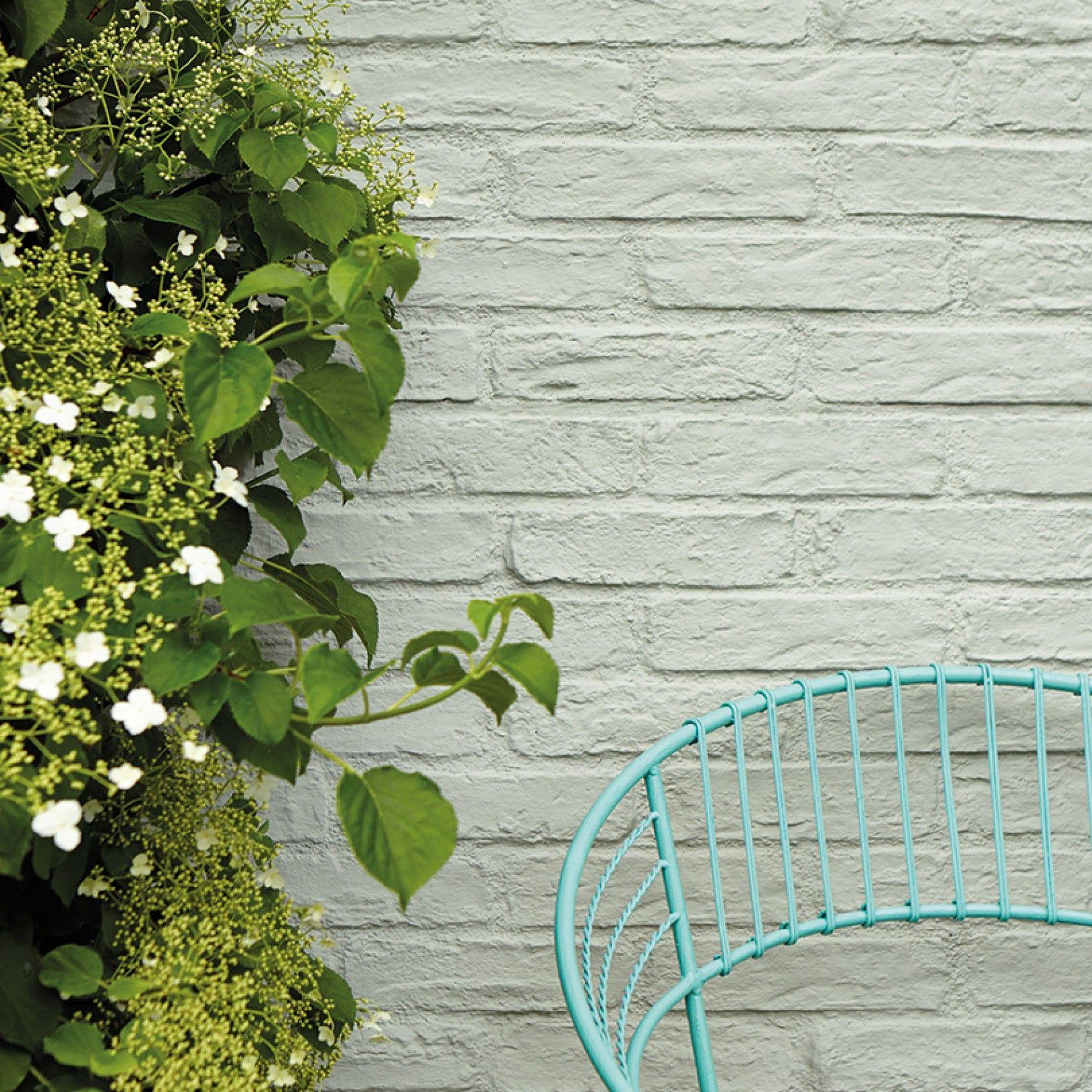 Normandy Grey 79 Brick Wall Gardens Exterior Masonry Paint Painted Brick Walls