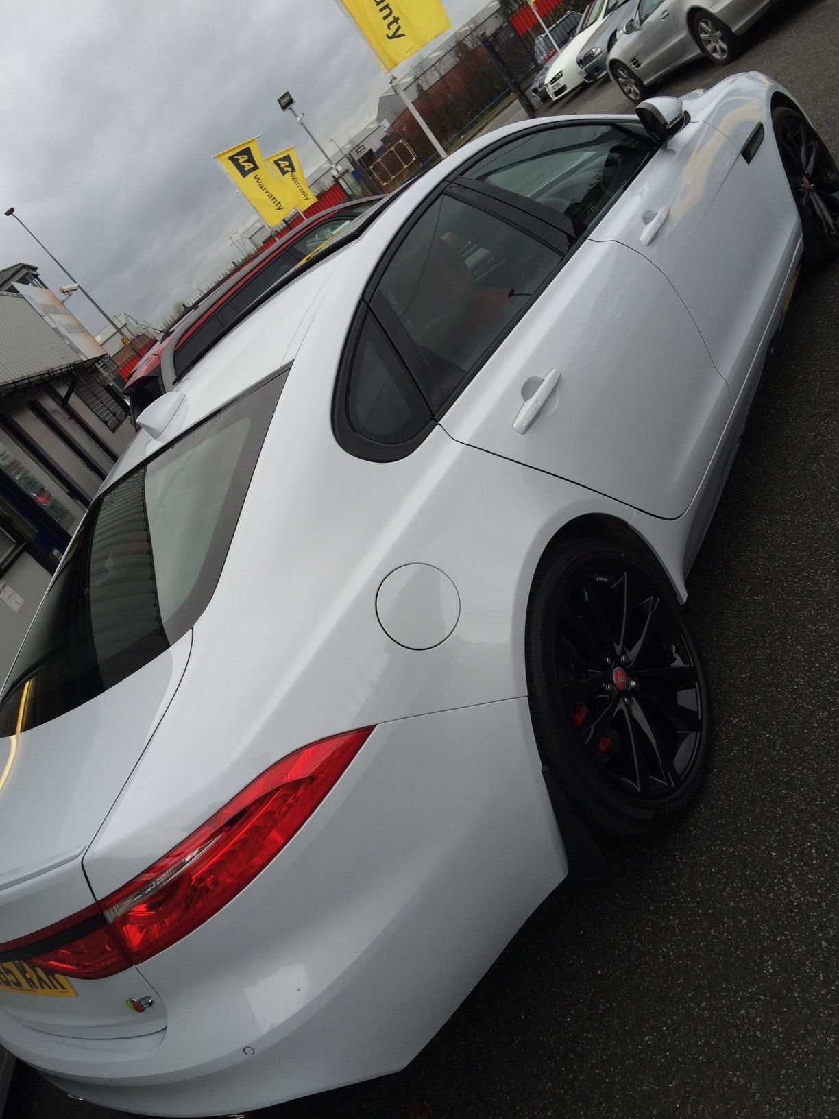 The Jaguar XF carleasing deal one of the many cars