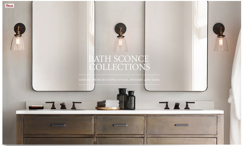 2Light LED Vanity Fixture Polished Chrome Wall Sconces in