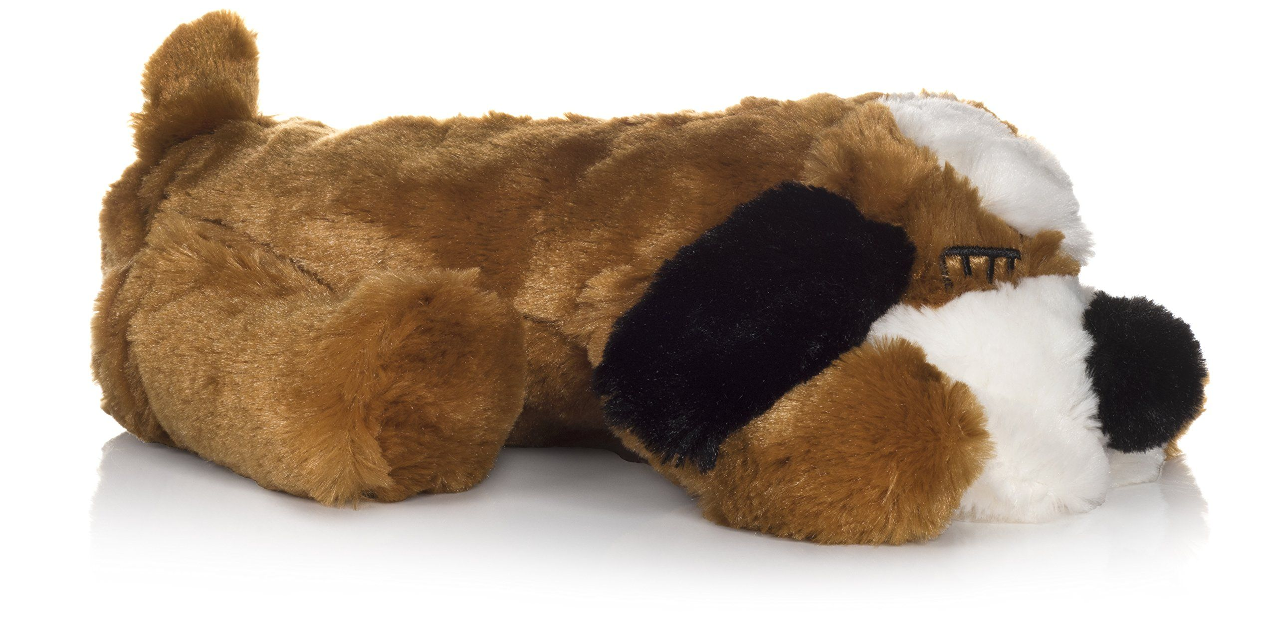 Smart Pet Love Snuggle Puppy Behavioral Aid Toy Brown And White