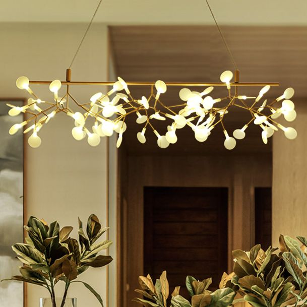 Led Pendant Lights Fixture Modern Firefly Branch Hanging