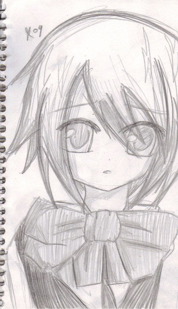 Anime Emo Drawings In Pencil