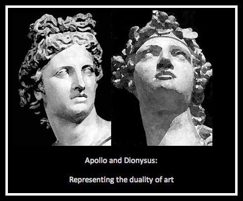 Greek Mythology Philosophy The Dichotomy Apollonian Dionysian According To Friedrich Nietzsche Dionysus God Mythology Greek Mythology