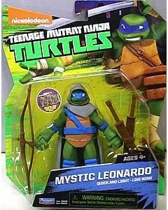 Crouching Leonardo Comic Teenage Mutant Ninja Turtles Collectible Pin